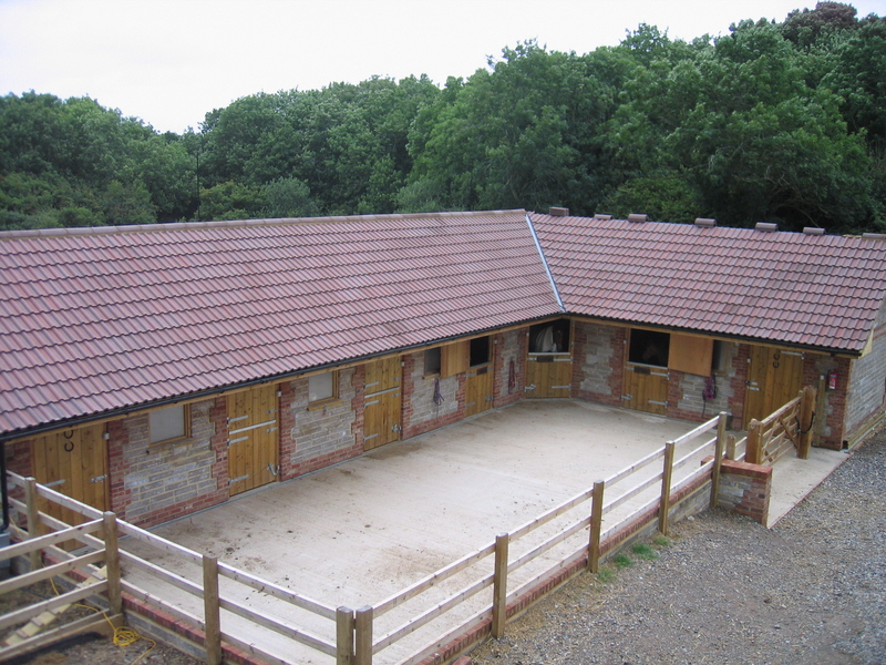 Paul r ireland stables and outbuildings